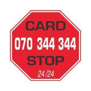card stop logo